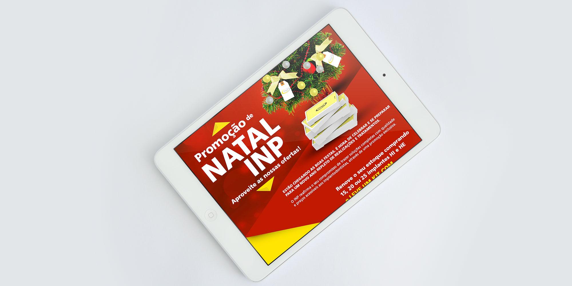 Promoção Natal INP Implante