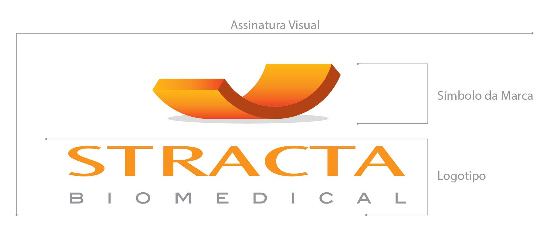 Criação Marca Stracta Logotipo Símbolo e Assinatura Visual